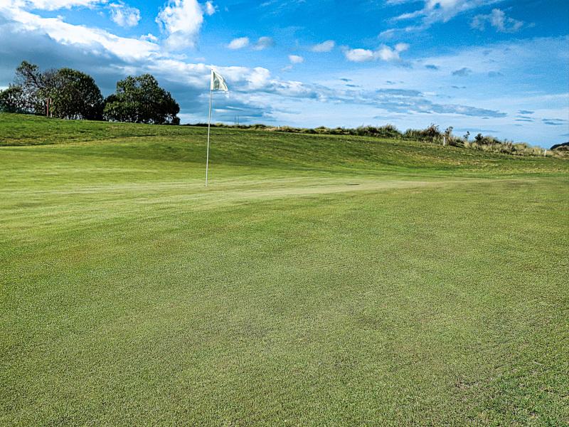 Dunes green at Takaka Golf Club