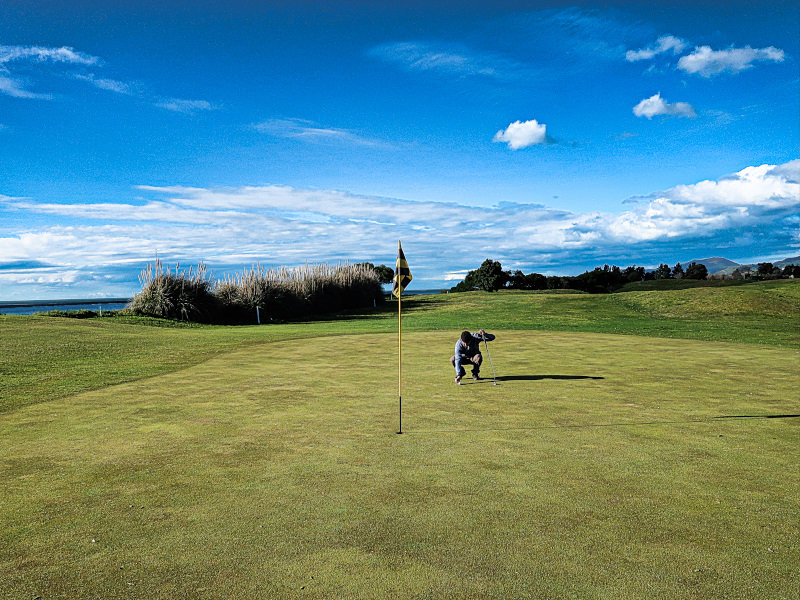 Grinding on Seaview at Nelson Golf Club