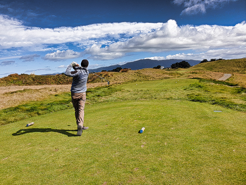 Having Blind Faith at Paraparaumu Beach Golf Club