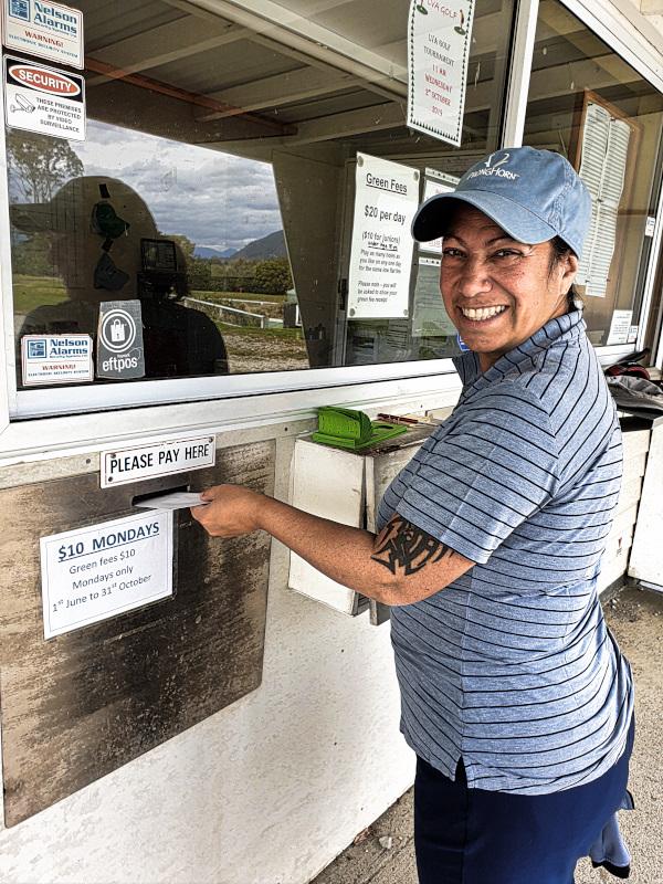 Honesty Box at Takaka Golf Club