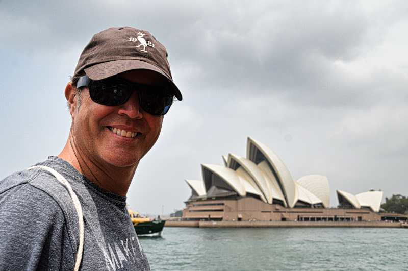 James and the Opera House