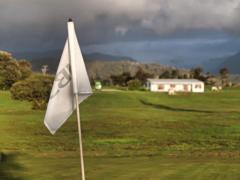 Tasman flag at Karamea Golf Club