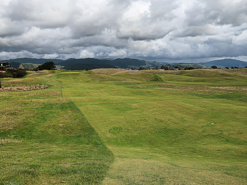 The Divide fairway Paraparaumu Beach Golf Club