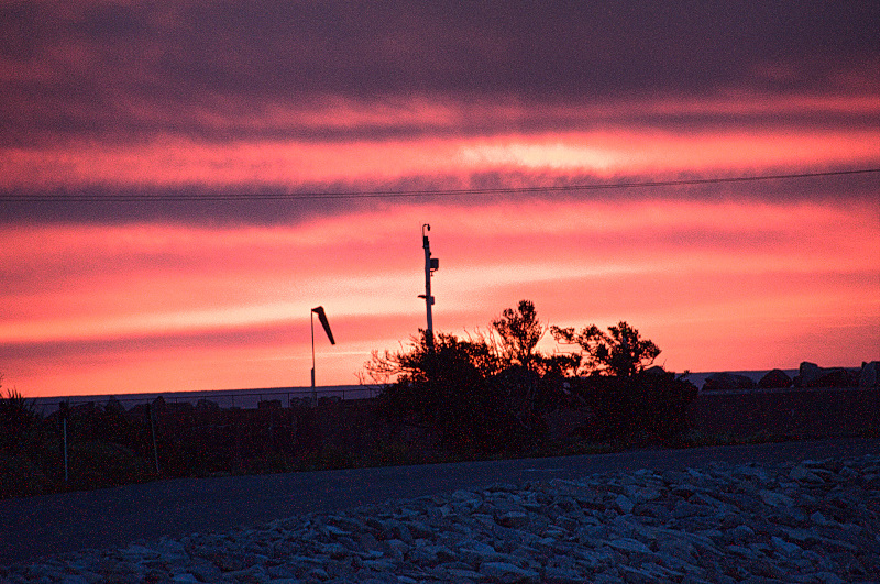 Sunset at Greymouth