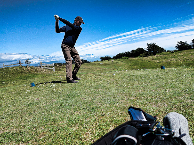 Cranston at Hokitika Golf Club