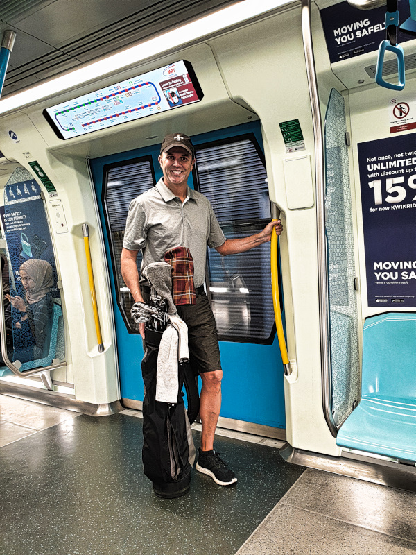 Golf in Malaysia via the KL Metro