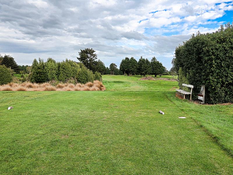 Pines tee at Invercargill Golf Club