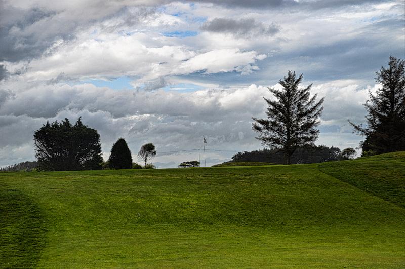 Ridge green at Invercargill Golf Club