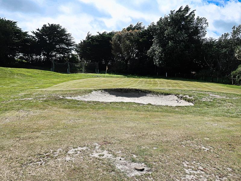 Thompsons Corner at Hokitika Golf Club