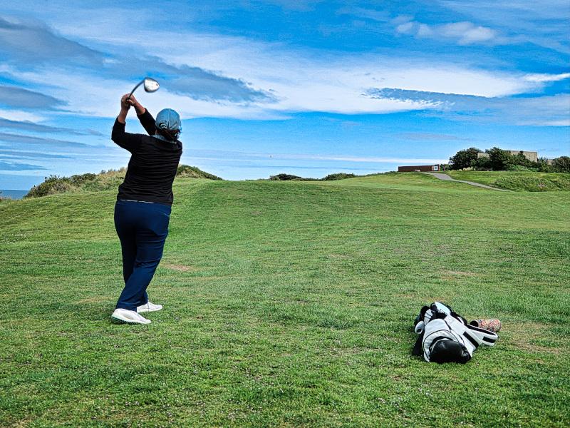 Fairway shot on Lawyers Head at Chisholm Links Golf Club