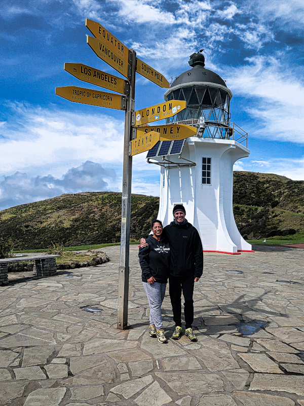 From Cape Reinga in the North...