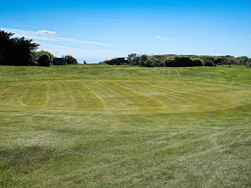 Hokitika Golf Club's Hope green
