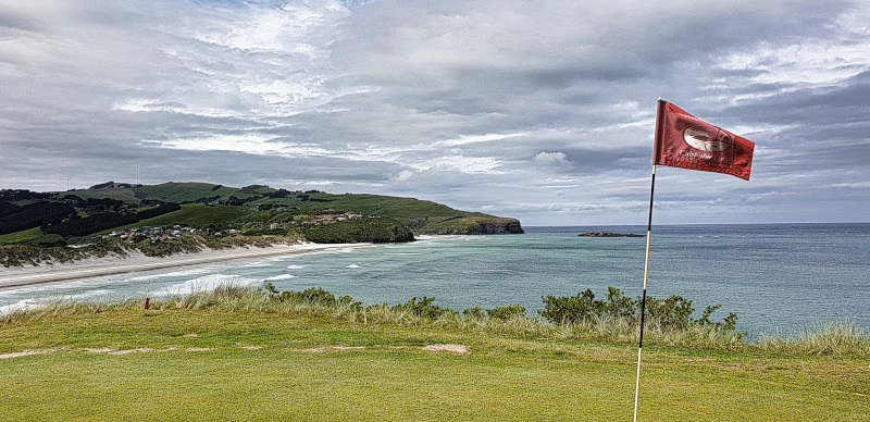 Lawyers Head green view at Chisholm Links Golf Club