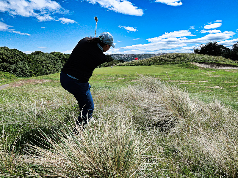 Stay out of the rough on Sherriffs at Chisholm Links Golf Club