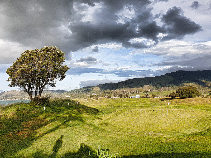 Takaka Golf Club's Hump green