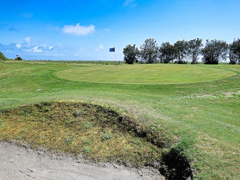 Westport Golf Club's Airport green