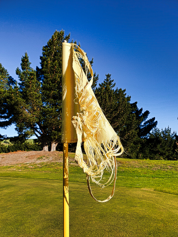 Wind is possible at Otakou Golf Club