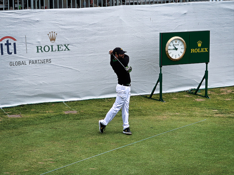 Abraham Ancer at the Presidents Cup