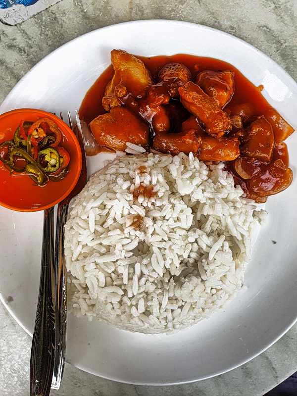 More Rice with Chicken