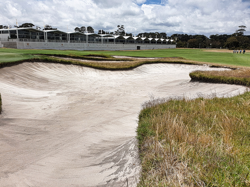 The Melbourne Sandbelt at the Presidents Cup
