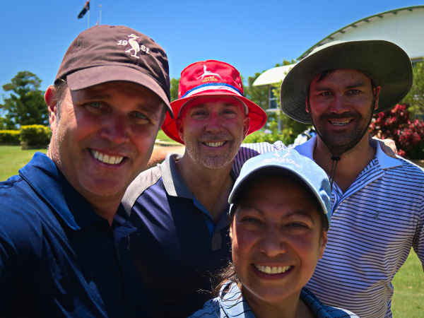 Golf is always better with your mates!