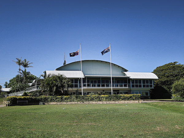 The Clubhouse at Gympie Golf Course