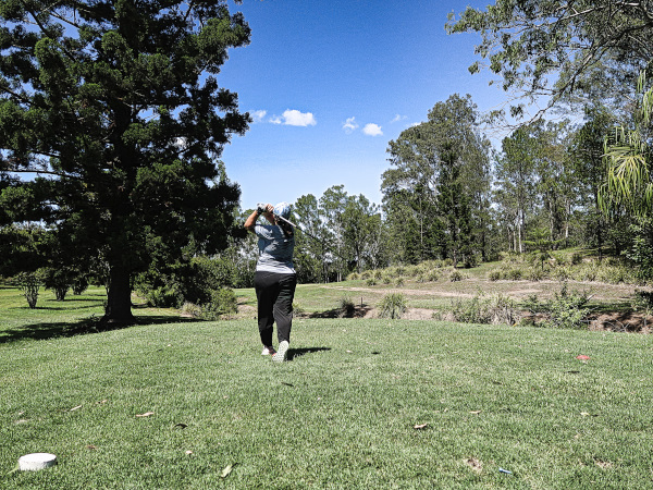 The cathedral green sixth at Gympie Golf Course
