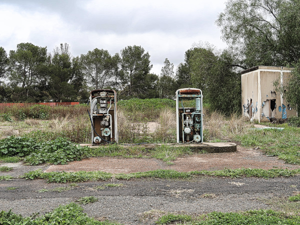 Petrol Stations at the Hinterland