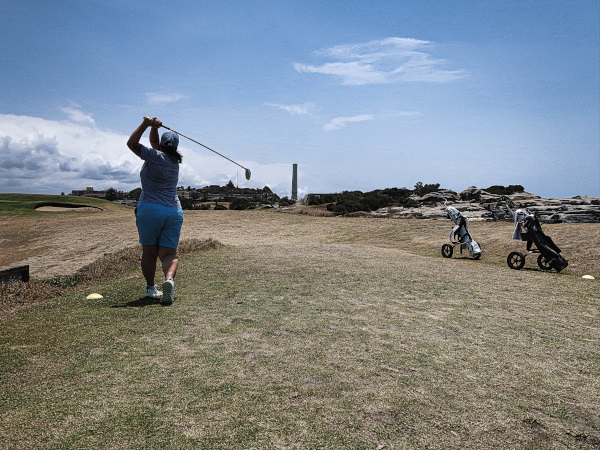 Ace cam on the fourth at Bondi Golf and Diggers Club