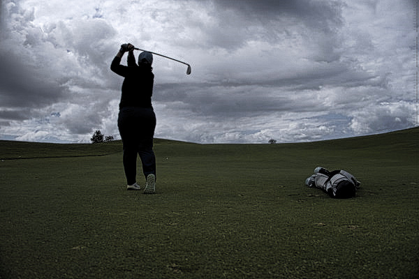 Approaching fifteen at The New South Wales Golf Club