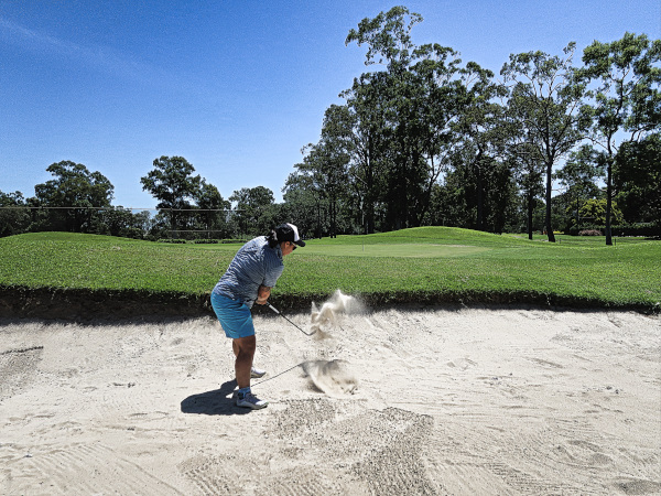 Bunkered on Eleven at Virginia Golf Club