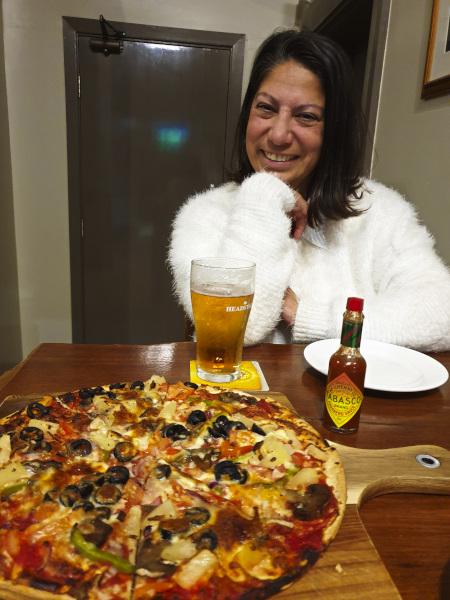 Delicious Pizza at Armatree Hotel