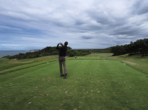 Finding the fairway on thirteen at The New South Wales Golf Club