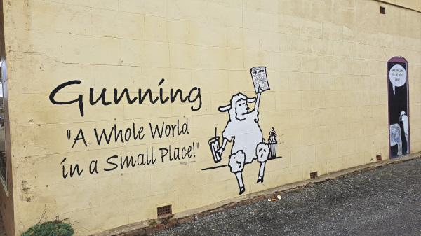 Gunning Mural