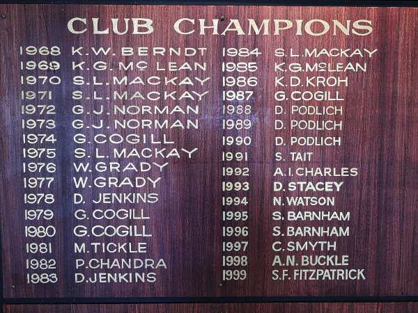 Major Champions at Virginia Golf Club
