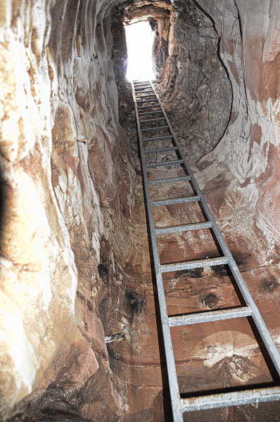 Opal Mine Exit