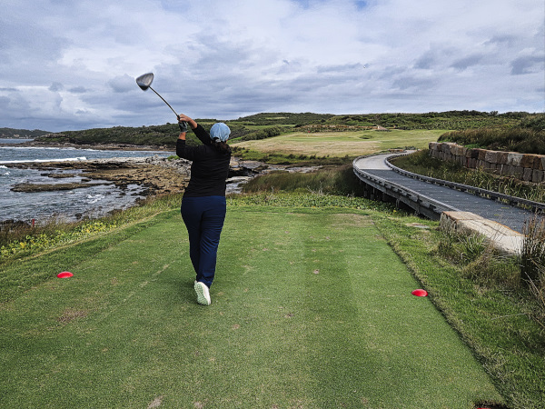 Pinseeker on the sixth at The New South Wales Golf Club