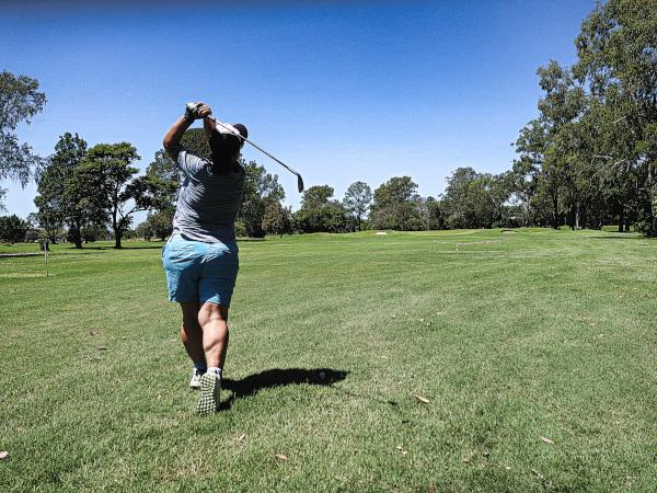 Right on Ten at Virginia Golf Club
