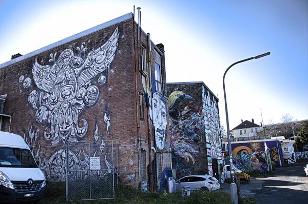Streetart in Katoomba
