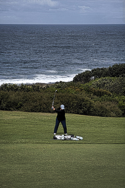 The fourteenth fairway at The New South Wales Golf Club