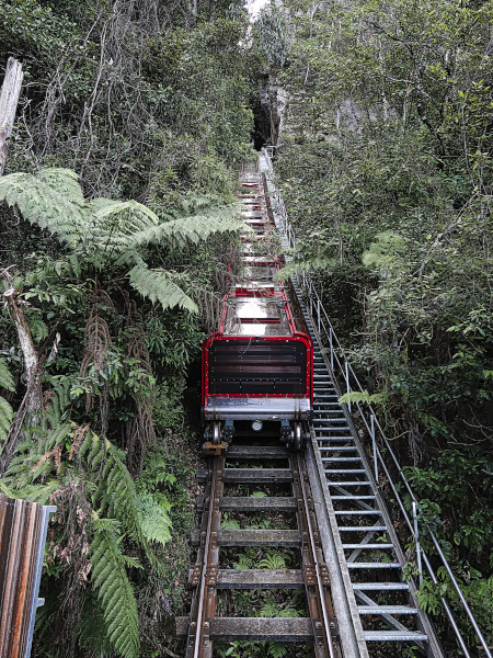 The steepest Railway in the World
