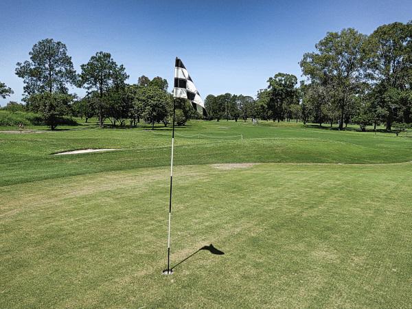 Twelfth green at Virginia Golf Club