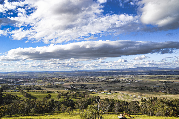View from Mount Panorama