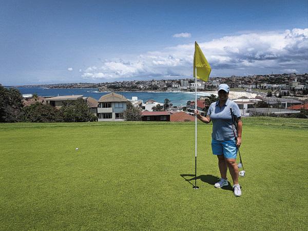 Views of Bondi Beach at Bondi Golf and Diggers Club