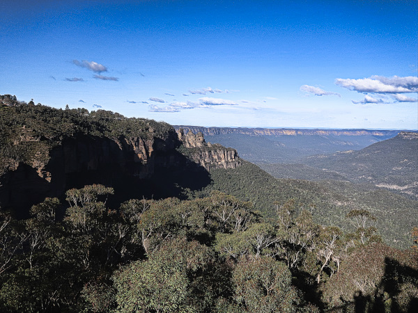 Views of the Blue Mountains