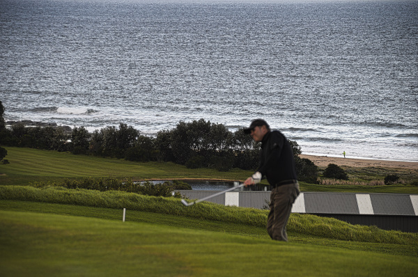 Whale watching at Gerringong Golf Club