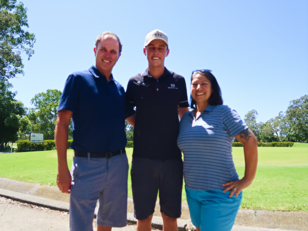 Zach and PATW at Virginia Golf Club