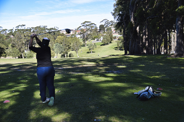 Aim for the tree on three at Mollymook Golf Club