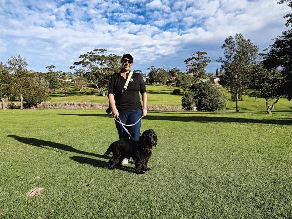 Best friends at Mollymook Golf Club