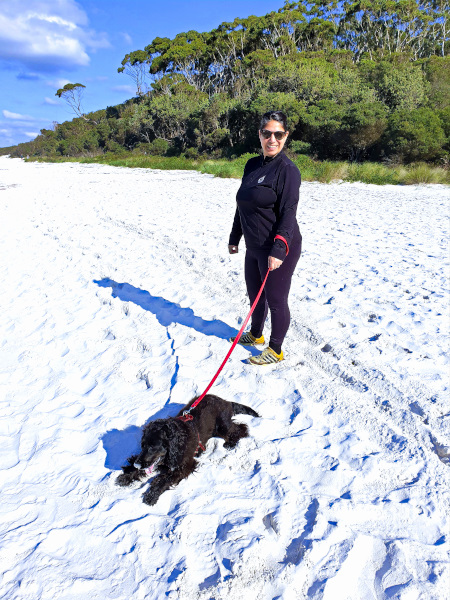 Another Day at Hyams Beach Our Lockdown in Jervis Bay